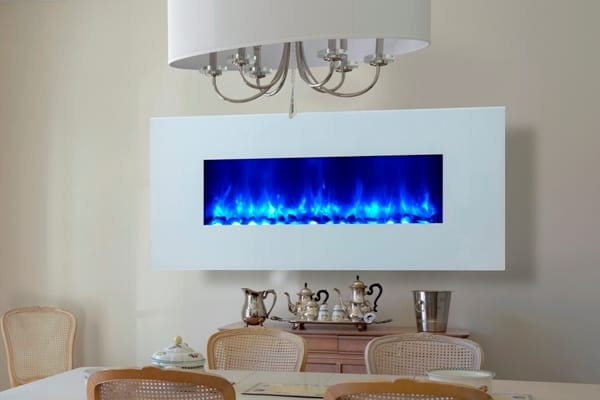 Electric fireplace inside your room