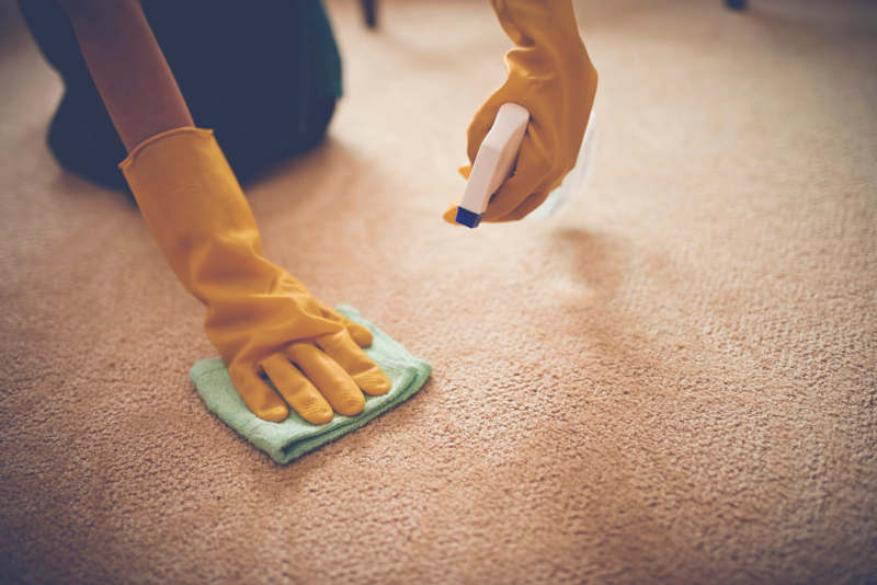 How To Get Baking Soda Out Of Carpet