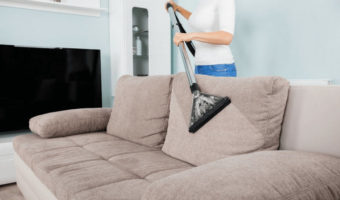 how to clean fabric sofa