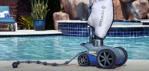 a pressure side pool cleaner