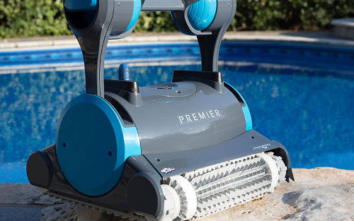 a robotic pool cleaner
