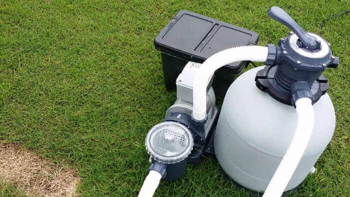 above ground pool filter pump