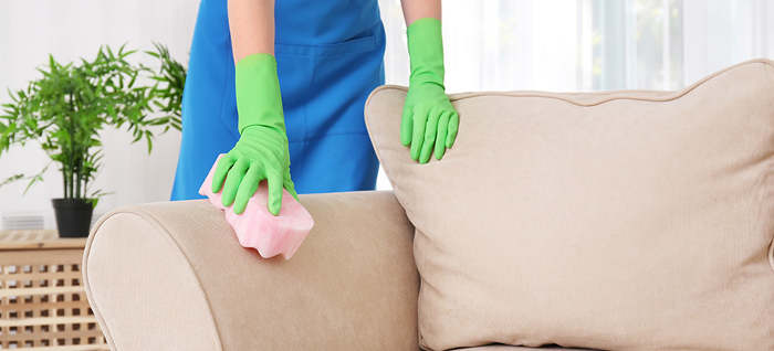 how to clean a couch without a steam cleaner