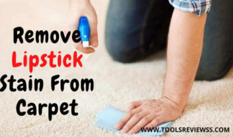 how to get lipstick out of carpet